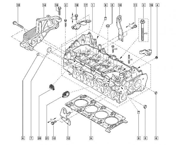 Suporte Do Motor Renault Master 2.3 16v Dci M9t