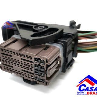 Conector Plug Da Centralina Injeção Eletrônica Renault