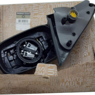 Retrovisor LD Eletrico sem Capa e Vidro Renault Laguna Novo Original - 7701049059