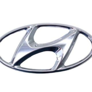Emblema Dianteiro Hyundai HD35 H100 Original 864106a001