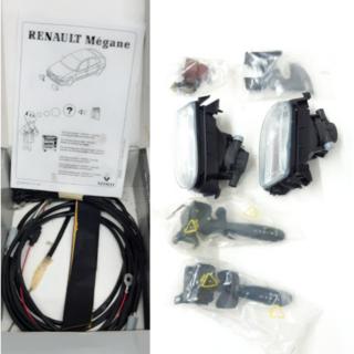Farol de Milha Renault Megane - 7701410509 (Kit Completo)