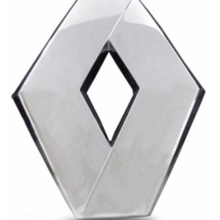 Emblema Tampa Traseira Renault Fluence - 908897907r