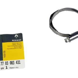 7703083431 abraçadeira mangueira do radiador renault master